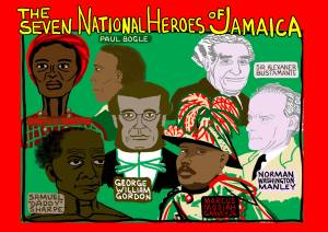 Jamaica: Seven National Heroes